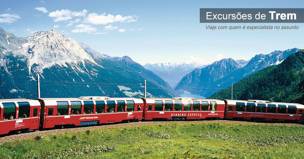 Excursões de Trem