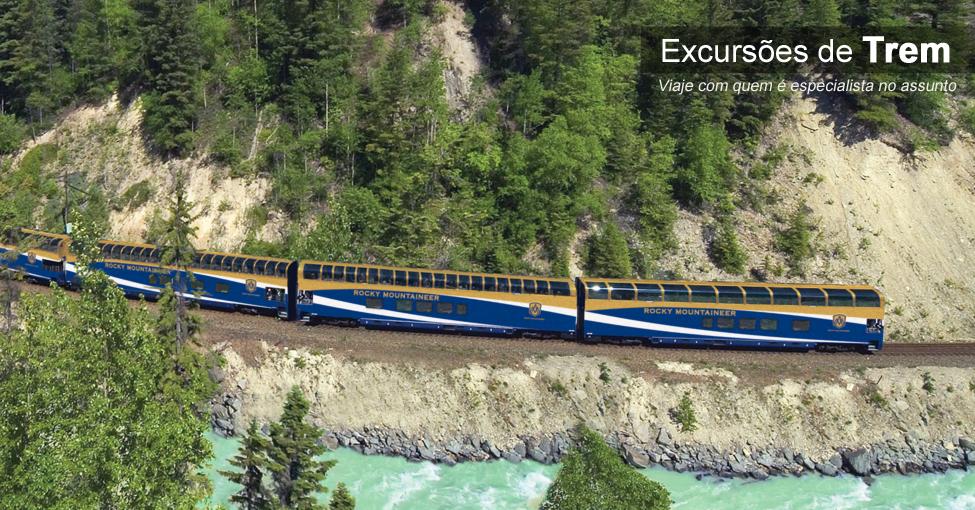 Excursões de trem com a TT