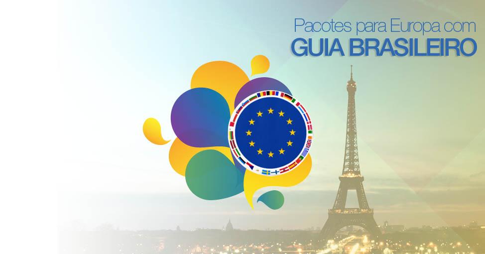 Pacotes para Europa com guia brasileiro