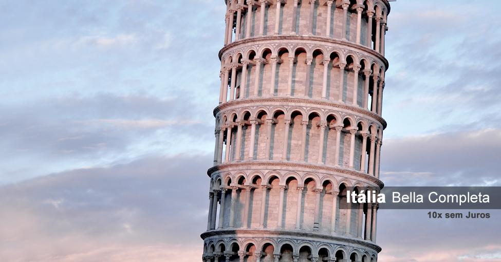 Pacote de viagem para Itália