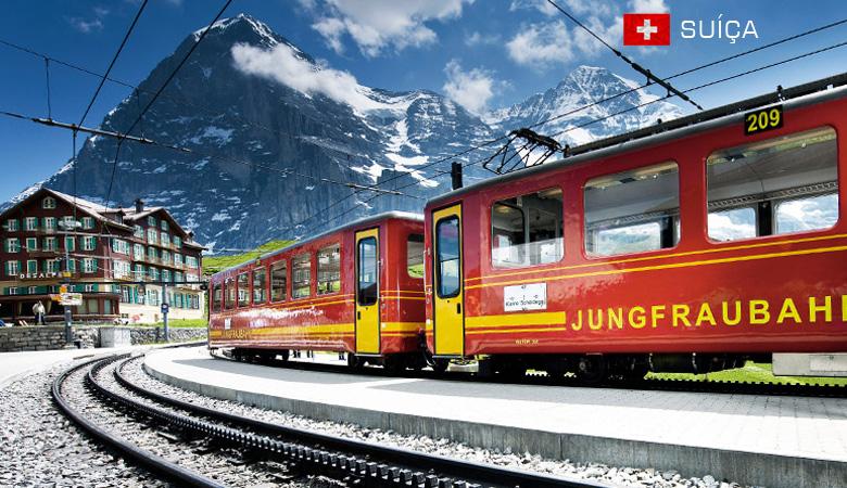 Pacotes para Suíça