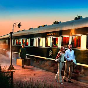 Pacote Rovos Rail de Pretória a Cidade do Cabo