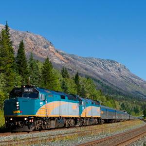 Banff, Lake Louise e Jasper com Trem The Canadian
