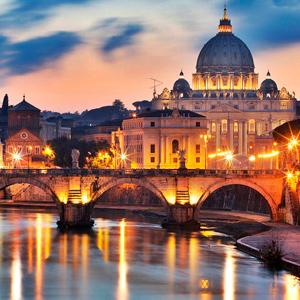 Pacote de Milão a Roma de Trem
