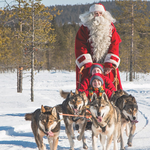 Pacote Lendas de Natal na Lapônia com Papai Noel