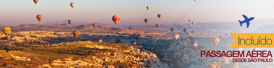 Pacote Verão na Turquia com Aéreo Incluso