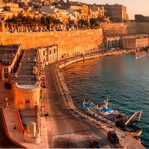 Pacote de viagem para Malta