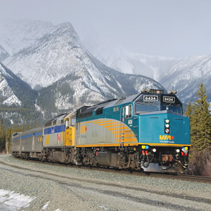 De Toronto à Montreal via Trem