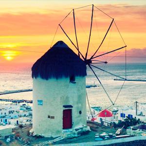 Pacote Atenas, Santorini e Mykonos