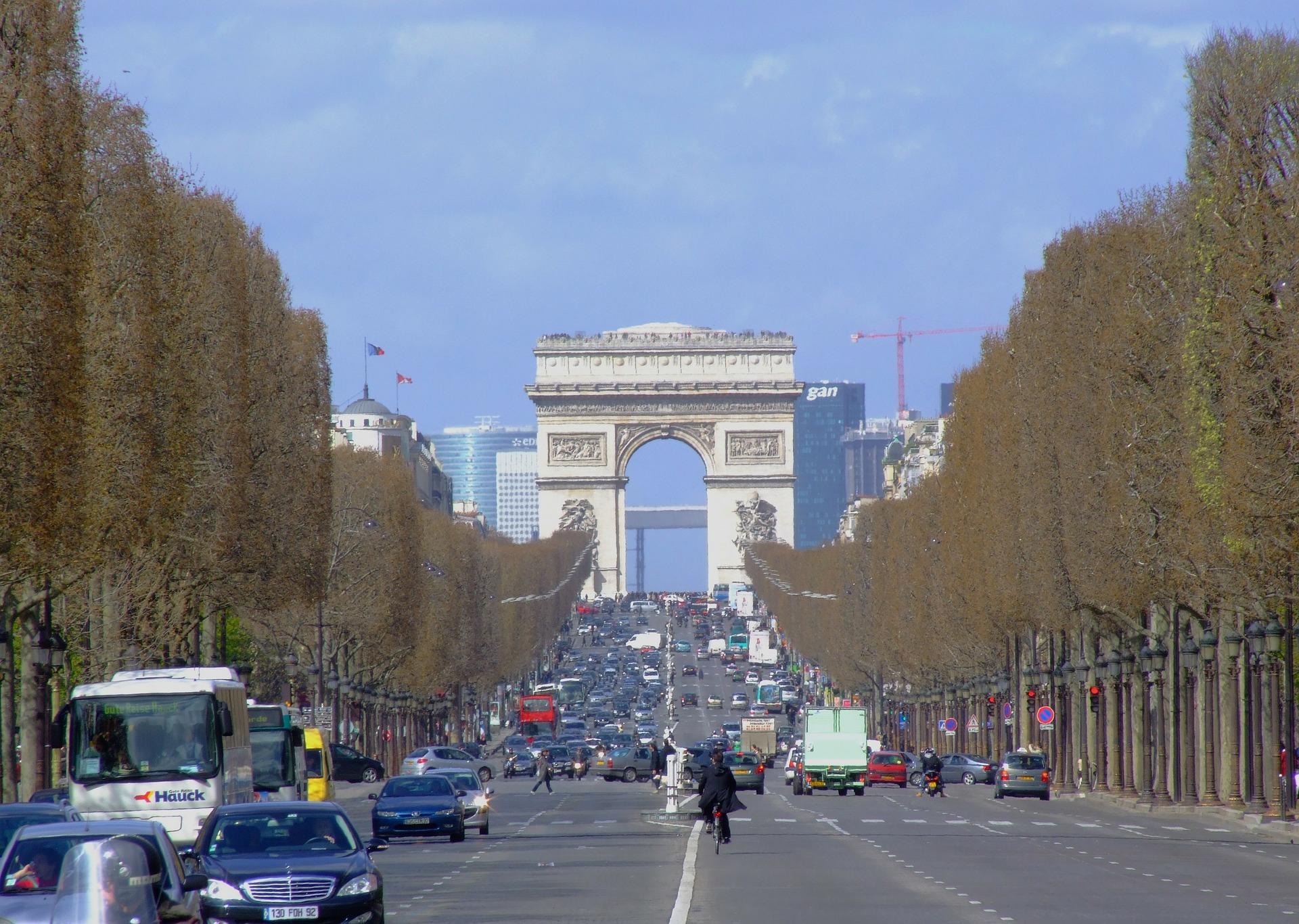 o que fazer em Paris: arco do triunfo