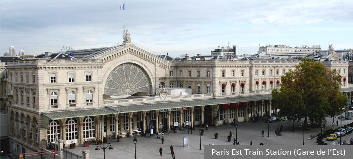 Paris Est Train Station (Gare de l'Est)
