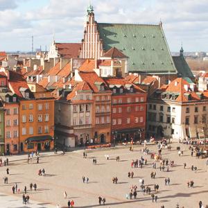 Pacote Varsovia a Moscou