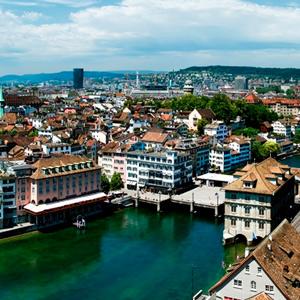 Pacote de Zurique a Genebra de Trem