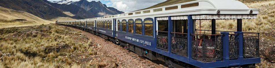 Pacote Trem de Luxo Andean Explorer - Montanhas Peruanas