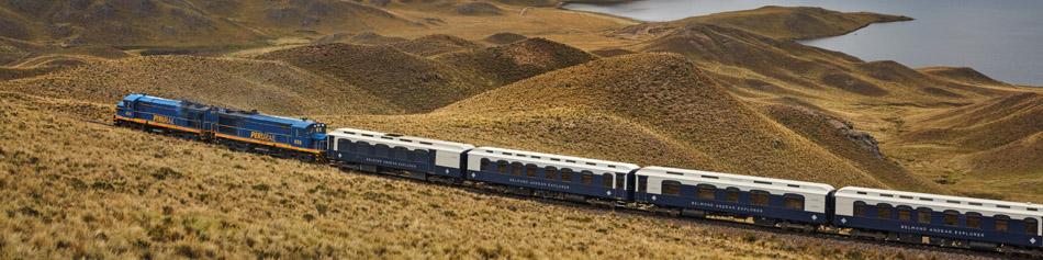 Pacote Trem de Luxo Andean Explorer - Espírito das Águas