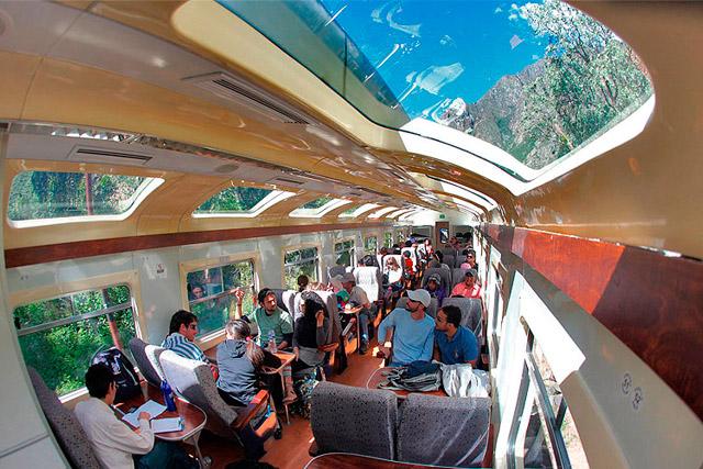 Trem Vistadome De Cusco A Aguas Calientes Trains Amp Tours