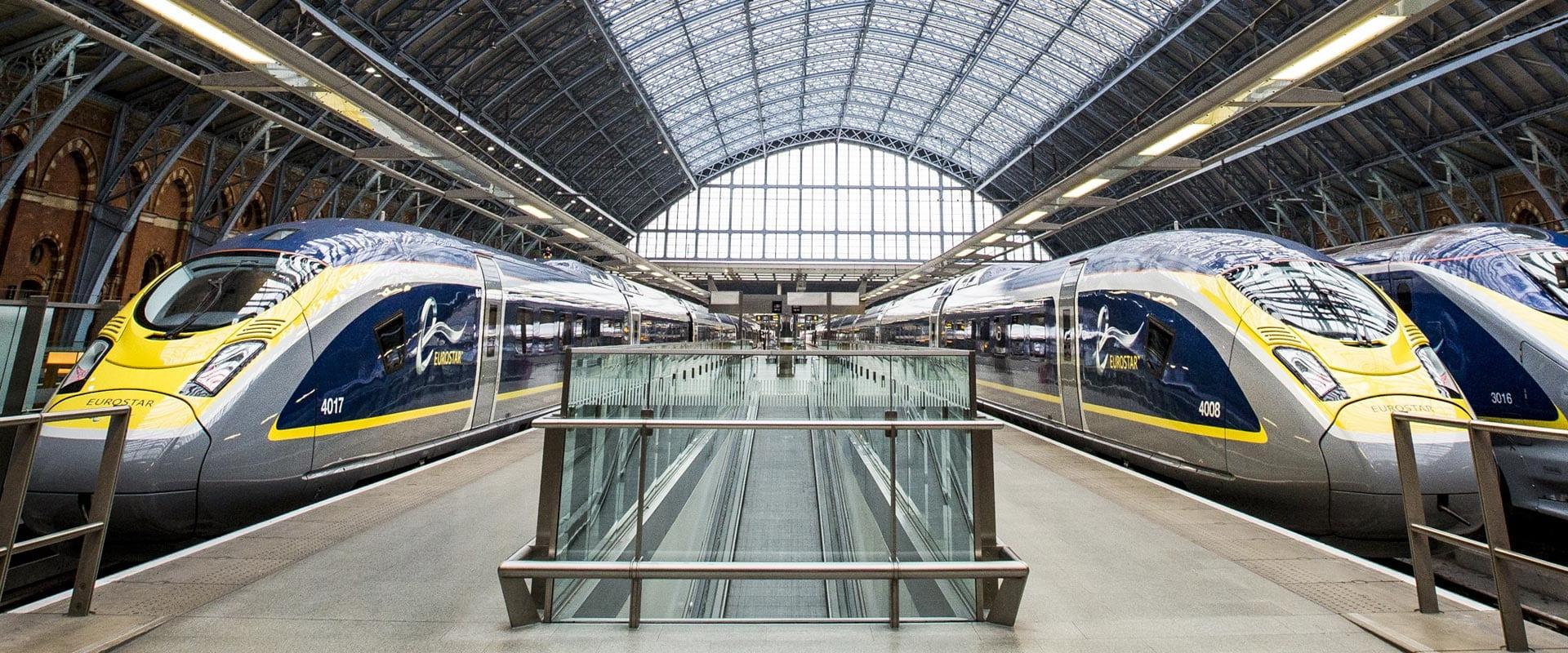 Trem de Paris para Londres