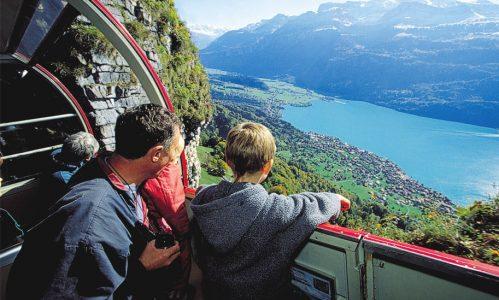 6 passeios imperdíveis para fazer de trem na Suíça