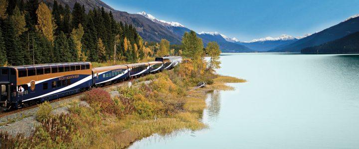 Rocky Mountaineer de Vancouver a Whistler e Jasper