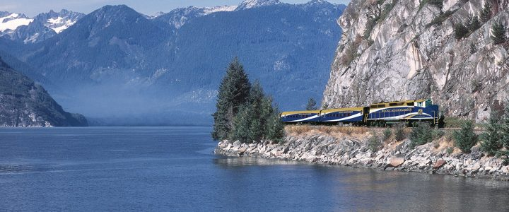 Rocky Mountaineer de Vancouver a Lake Louise