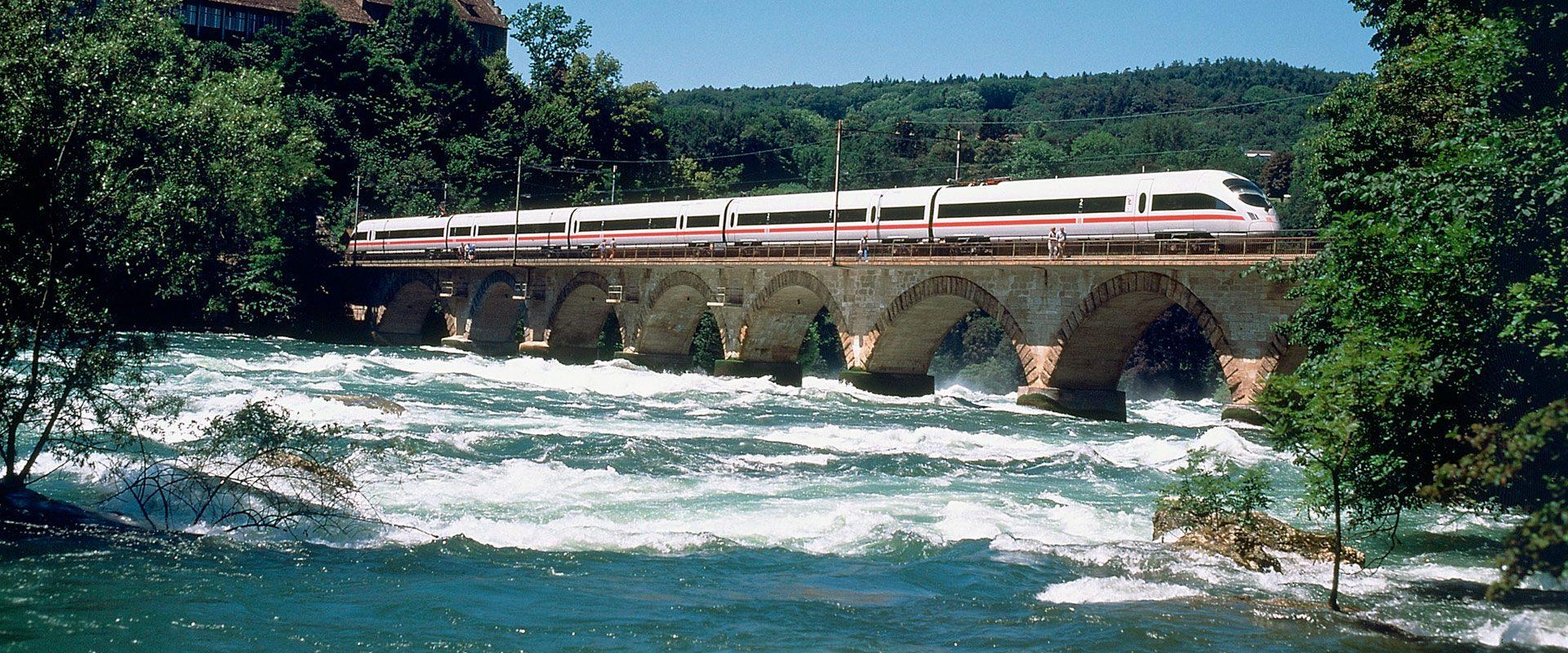 De Munique a Berlim de Trem