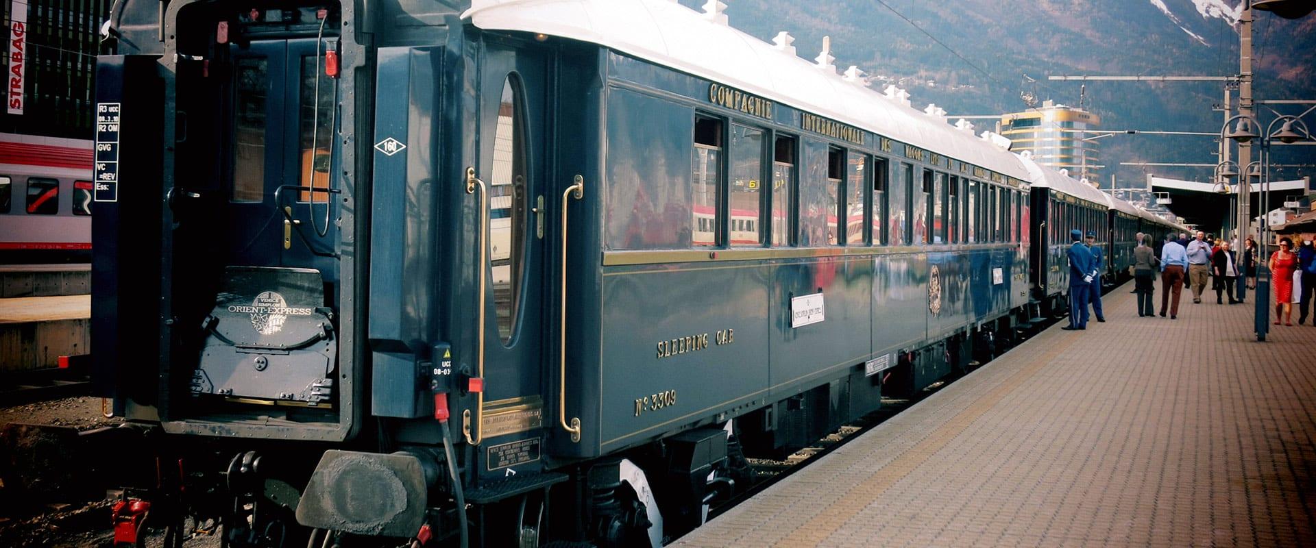 Venice Simplon-Orient-Express de Veneza a Paris