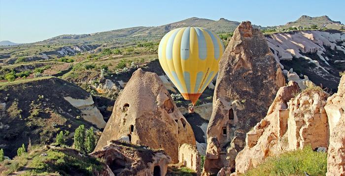 Capadócia passeio de balão