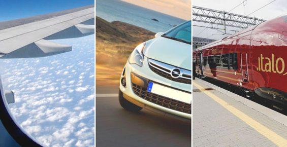 Como se locomover na Itália: Avião, Carro ou Trem?