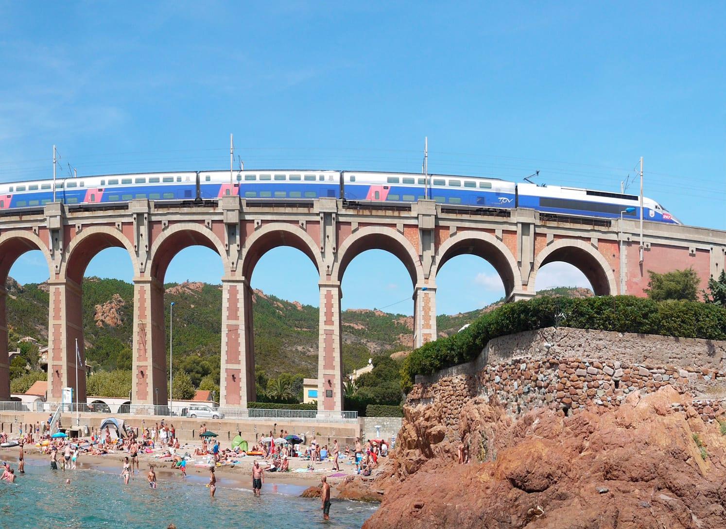 Passe ou passagem de trem na França