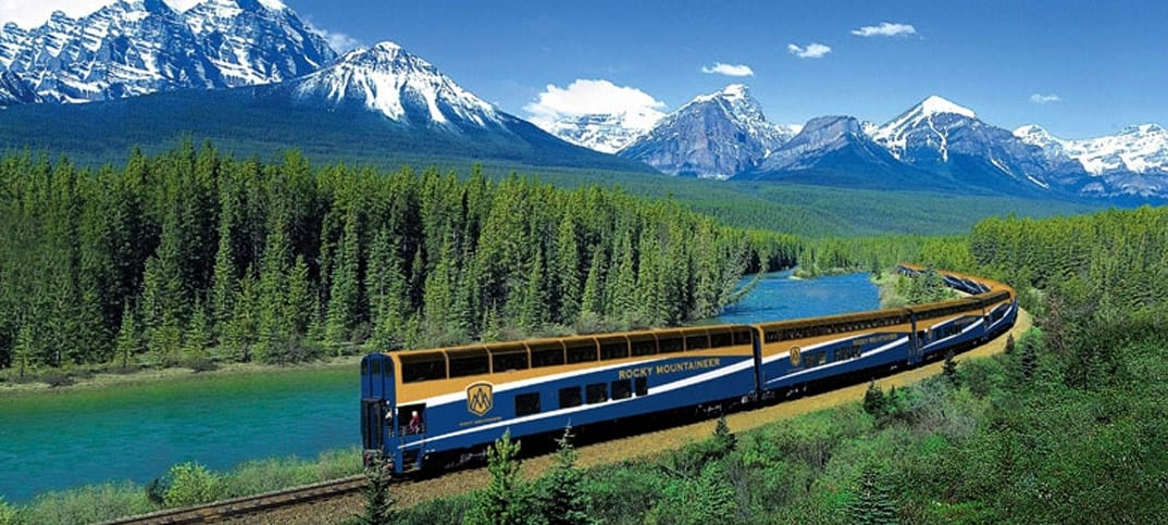 Rocky Mountaineer: Um Canadá surpreendente!