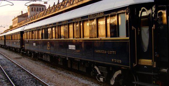 Londres e Paris de trem de luxo