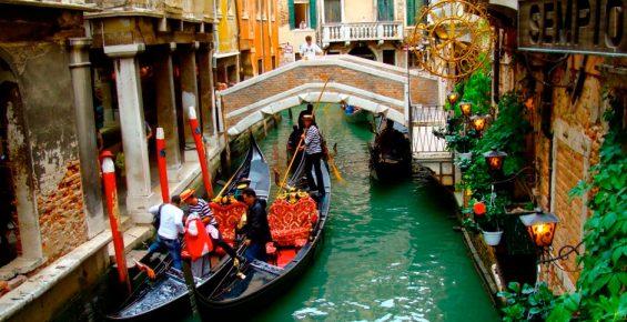 Como chegar em Veneza de trem?