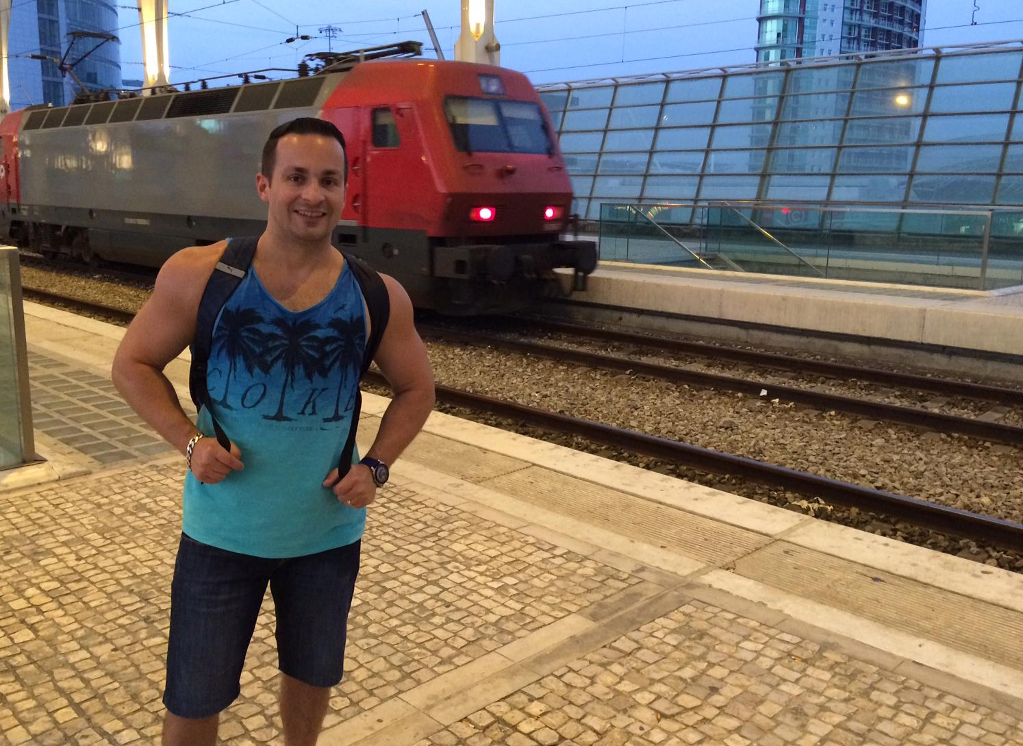 Minha viagem de Trem de Lisboa a Madrid