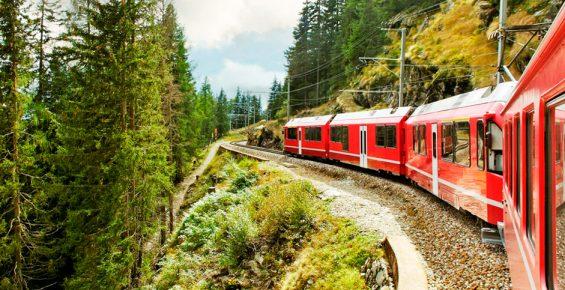 6 melhores países para seviajar de trem na Europa