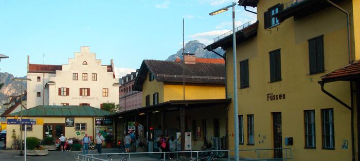 Estação de Trem em Füssen