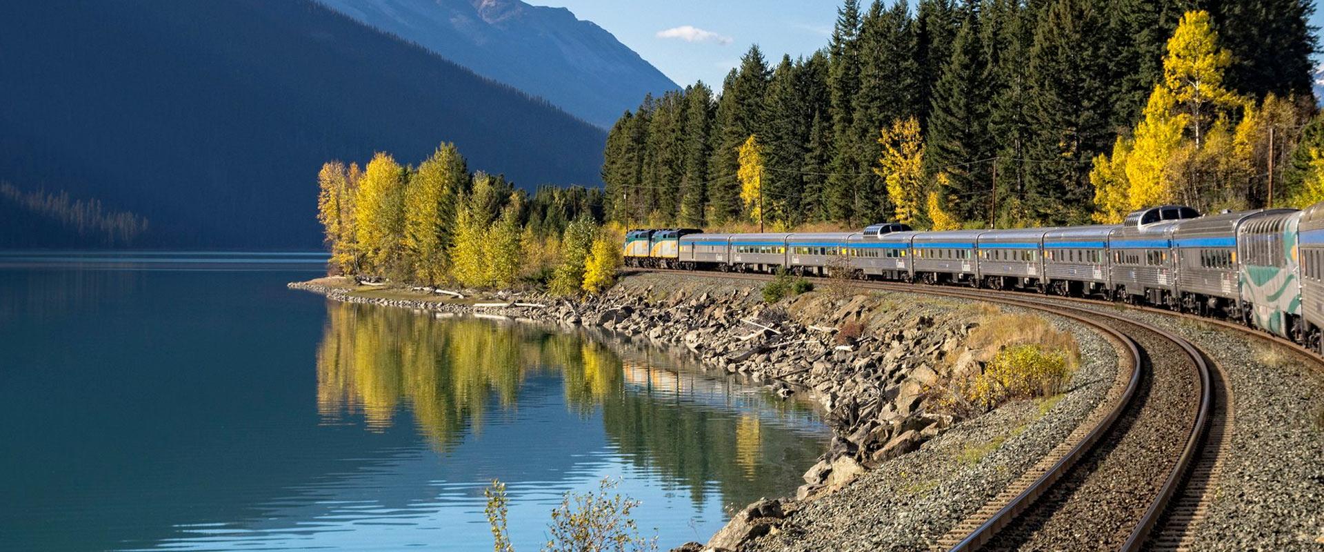 Trem no Canadá