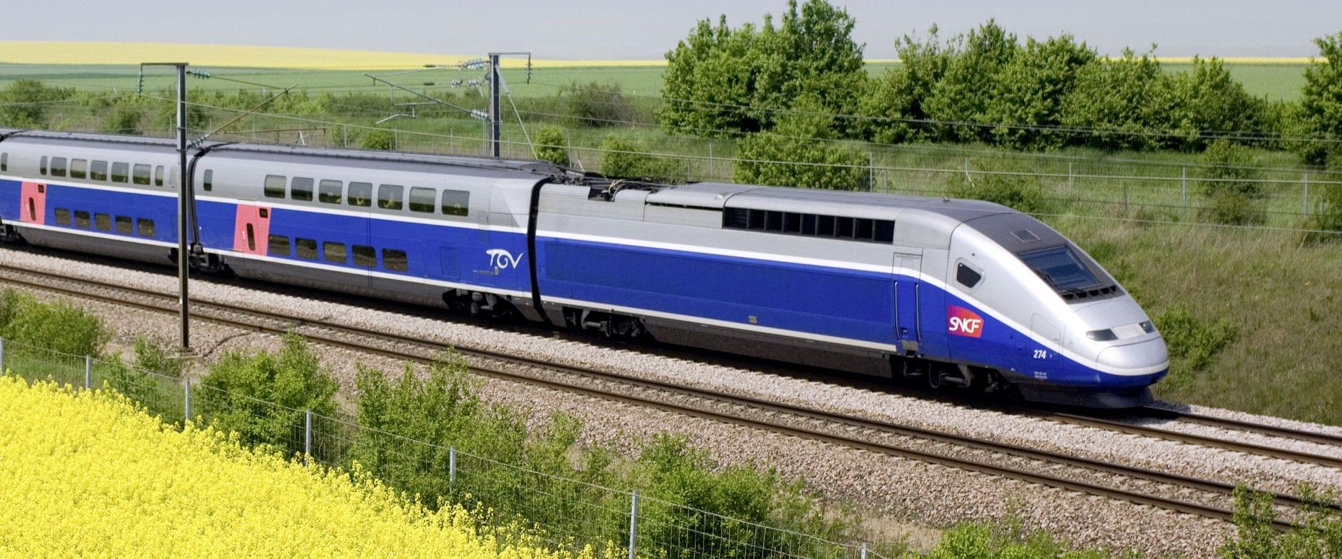 Trem de Barcelona a Paris