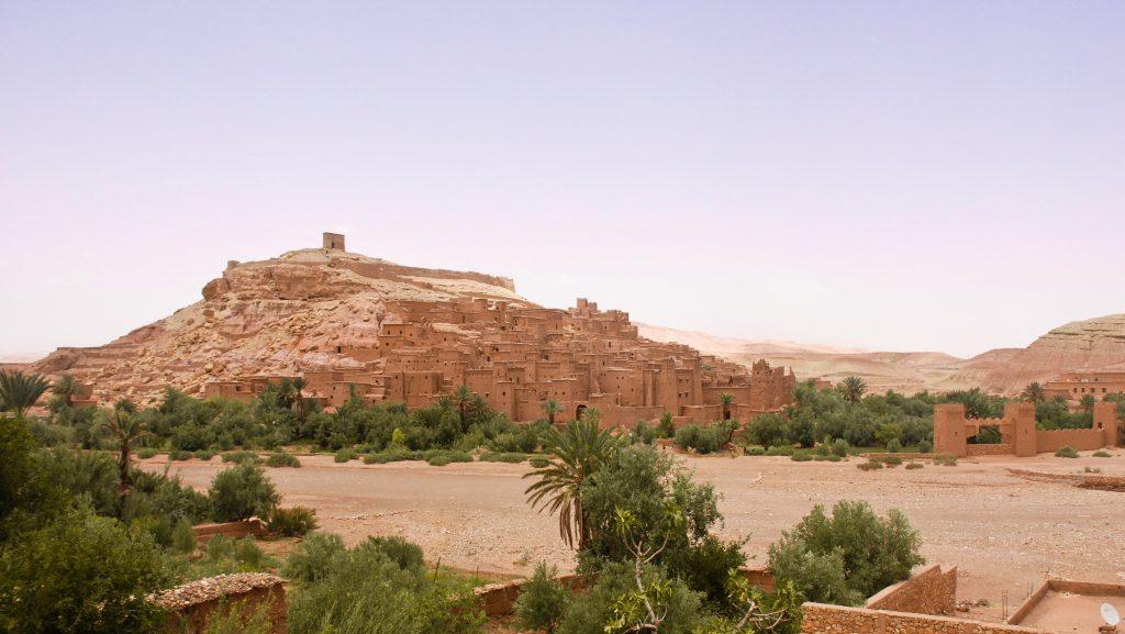 Aït Benhaddou, Ouarzazate. Foto por Karina Cordeiro.