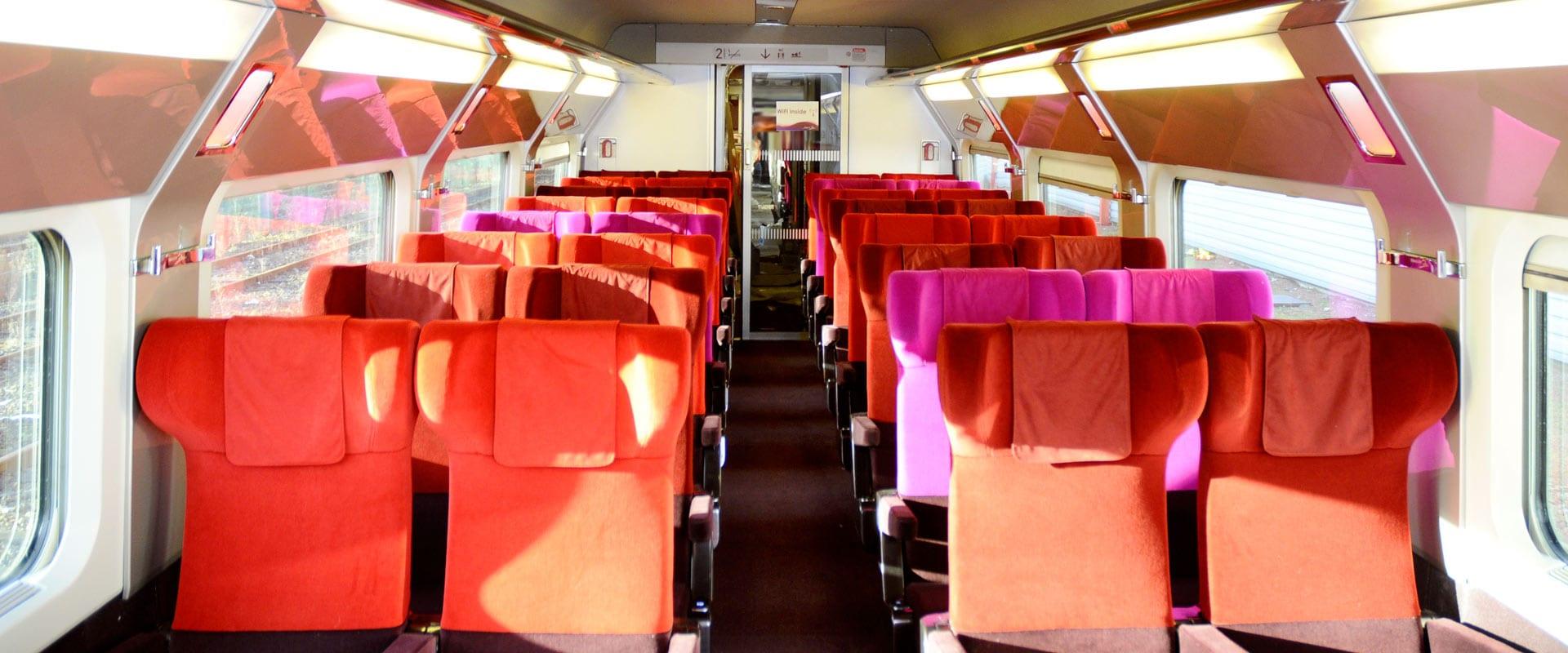 Trem de Paris para Amsterdam