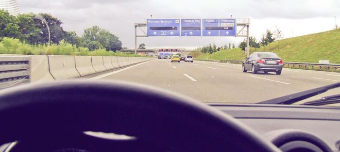 Carro na Alemanha
