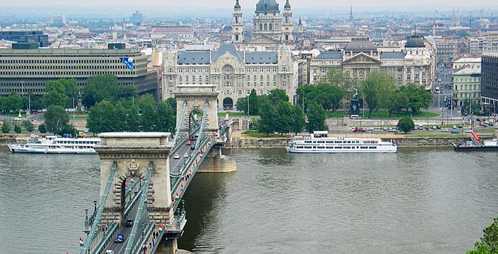 Viena a Budapeste de Carro
