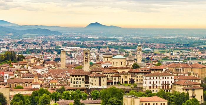 Bergano na Itália