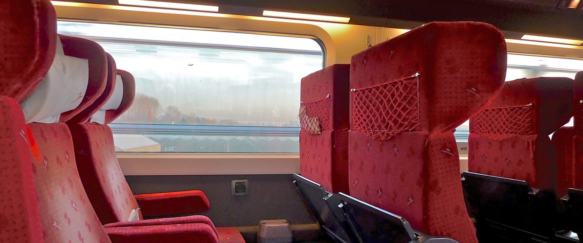 Trem de Paris para Bruxelas