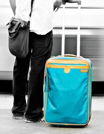bagagem de trem na alemanha